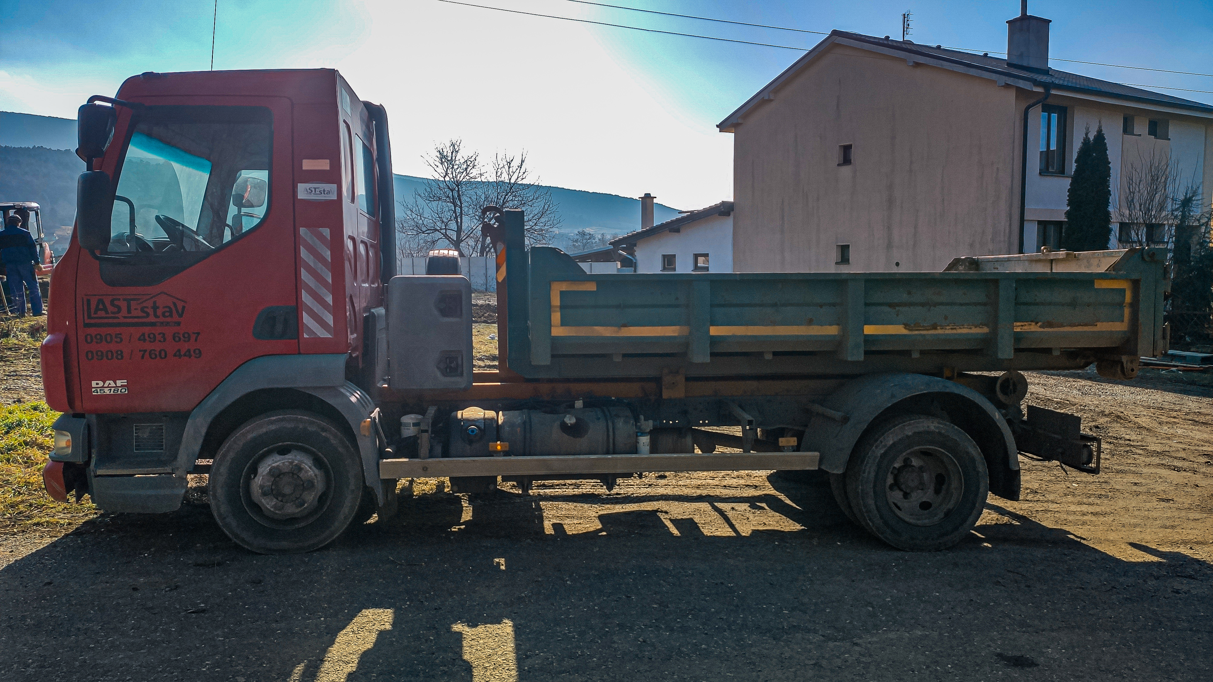 Kontajnerový nosič Daf LF 45.180 7.5t