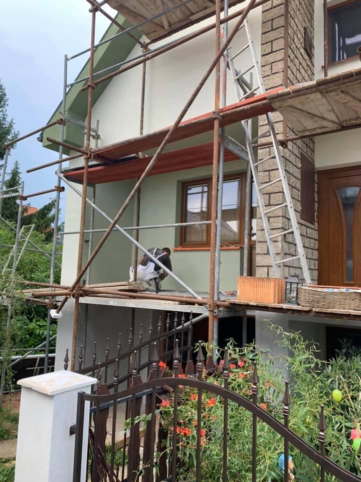 Zateplenie rodinného domu Jedľové Kostoľany